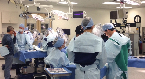 Neurosurgery residents