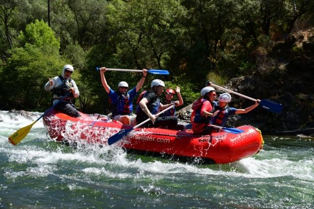 Neurosurgery Residents River Rafting